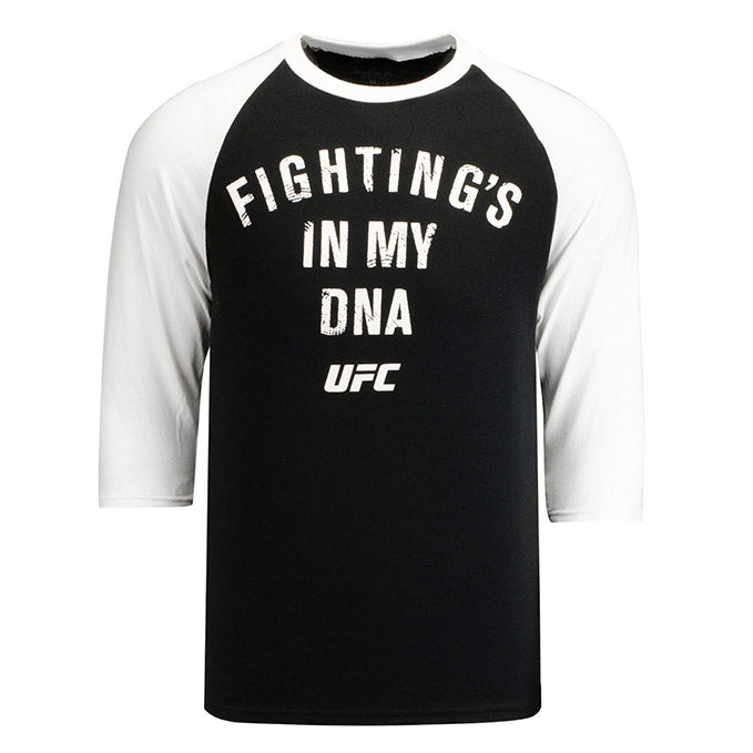 Reebok Black UFC Fighting's in my DNA Raglan