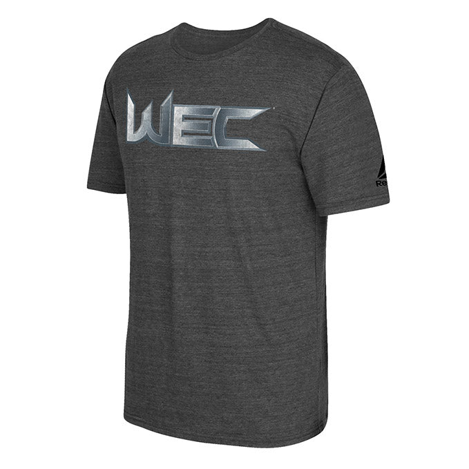 WEC World Extreme Cagefighting Tri-Blend T-Shirt - Dark Heather Grey