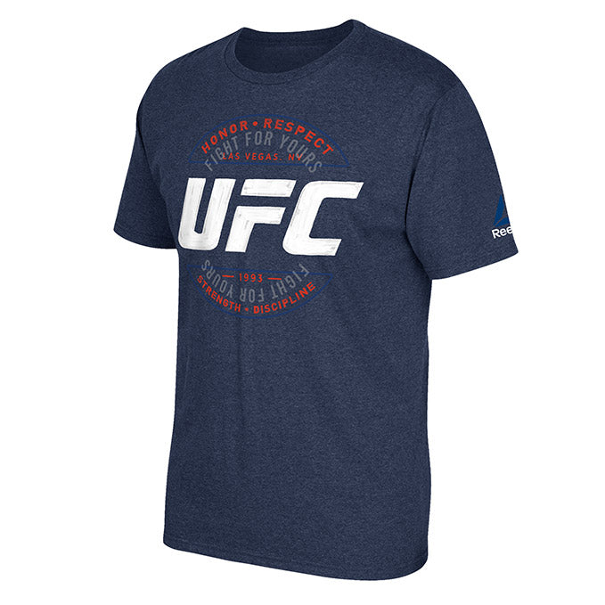 UFC Reebok Artist Series T-Shirt - Navy Heather