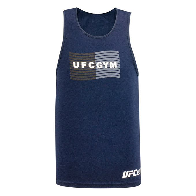 UFC Gym Mens Wave Tank