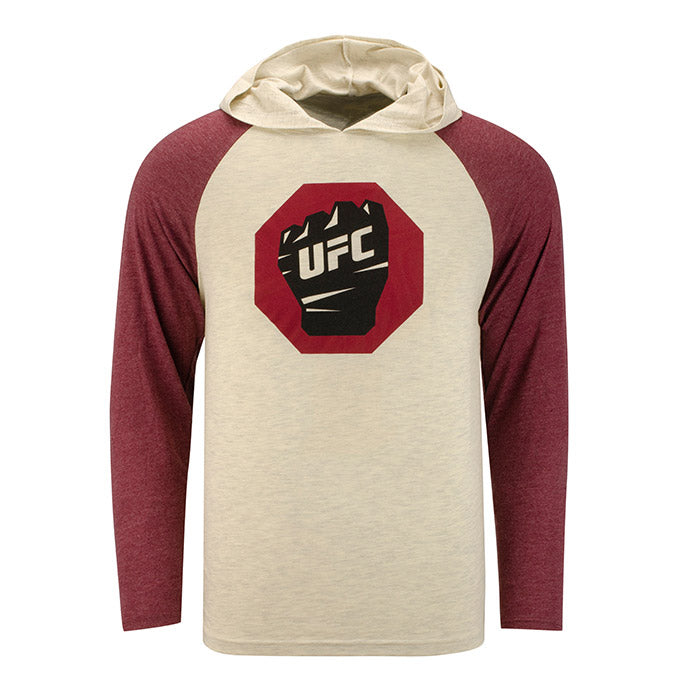 UFC Men's Raglan Hooded T-Shirt