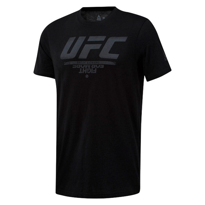 UFC Reebok Fan Gear Logo T-Shirt - Black