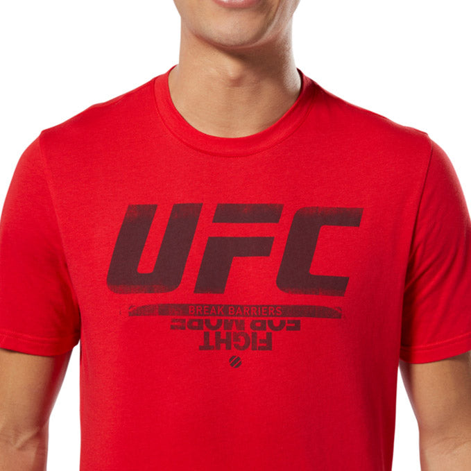UFC Reebok Fan Gear Logo T-Shirt - Red