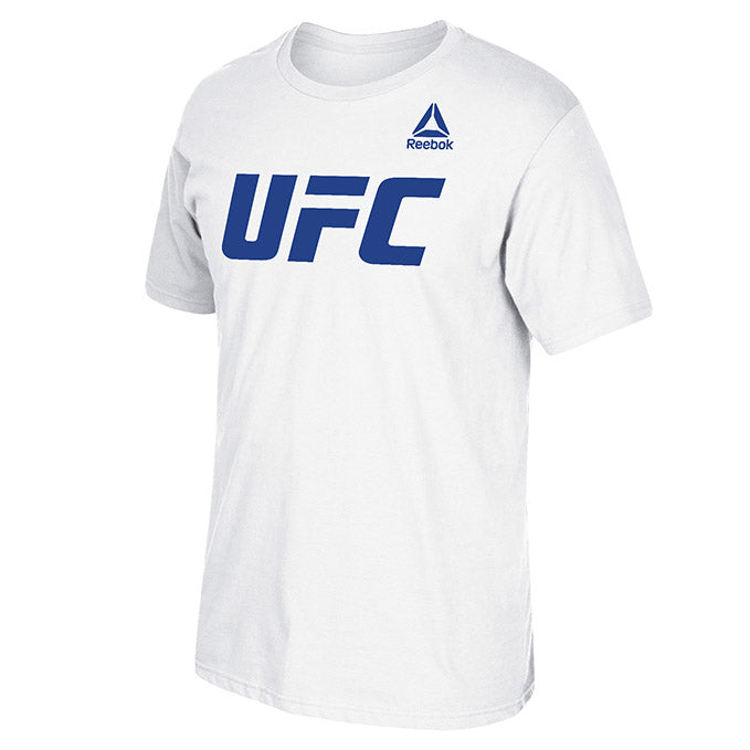 Men's UFC Reebok White Essential T-Shirt