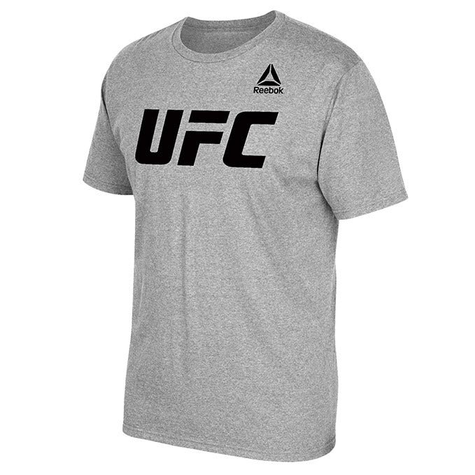 Men's UFC Reebok Heather Grey  Essential T-Shirt