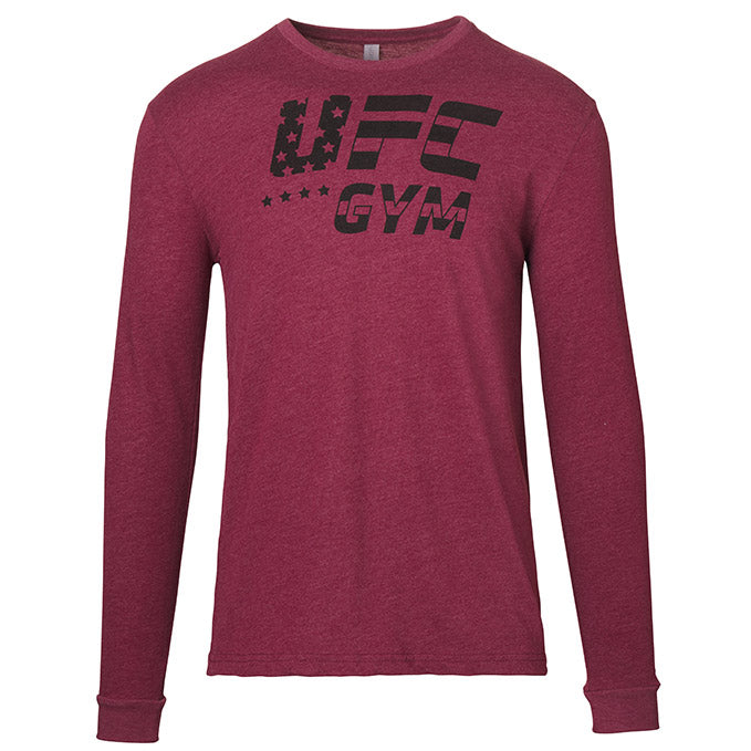 UFC Gym Men's Star And Stripe Long Sleeve