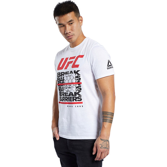 UFC Reebok Fan Gear Capsule T-Shirt - White