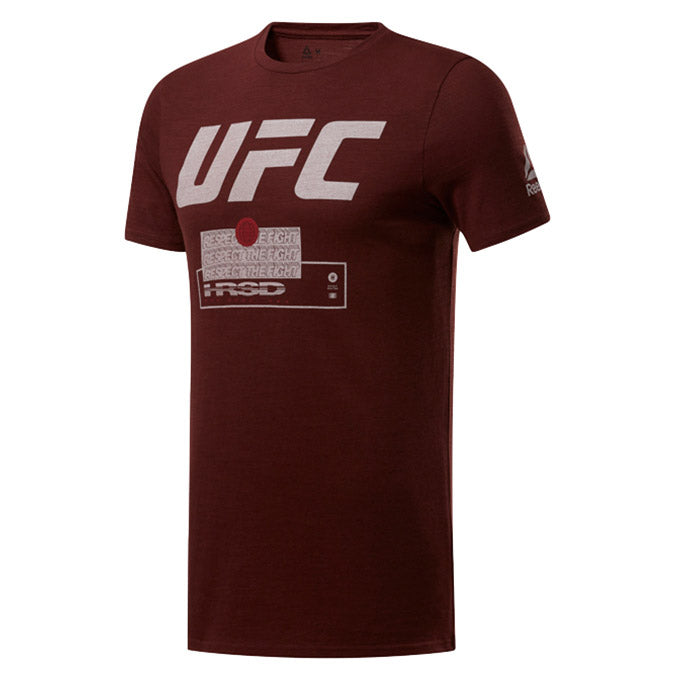 UFC Reebok Fan Gear Fight Week T-Shirt - Burnt Sienna