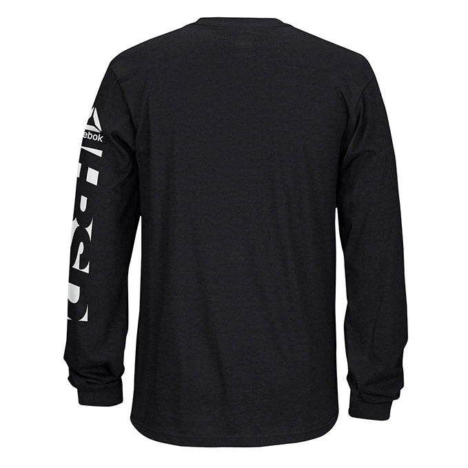 Men's UFC Reebok Fan Gear Fight Week Long Sleeve T-Shirt - Black