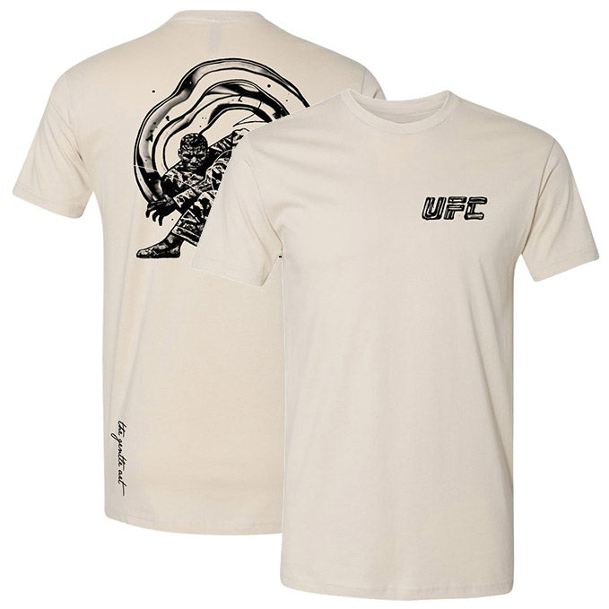 Men's UFC Disciplines The Gentle Art T-Shirt - Sand