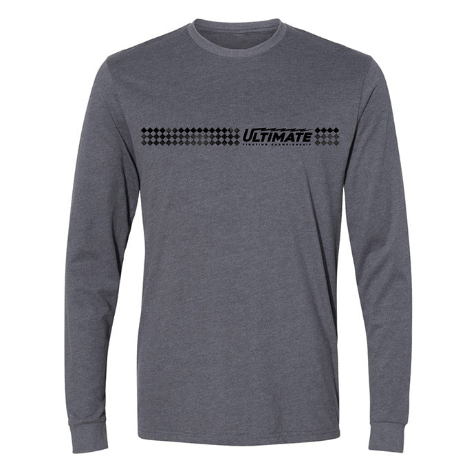 Men's UFC Ultimate Edge Long Sleeve T-Shirt - Grey