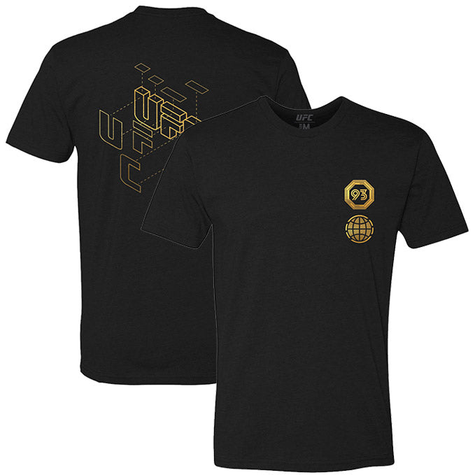 Men's UFC Symmetry Champion T-Shirt - Black
