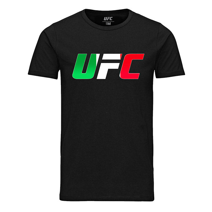 UFC Italy Country Logo Black T-Shirt