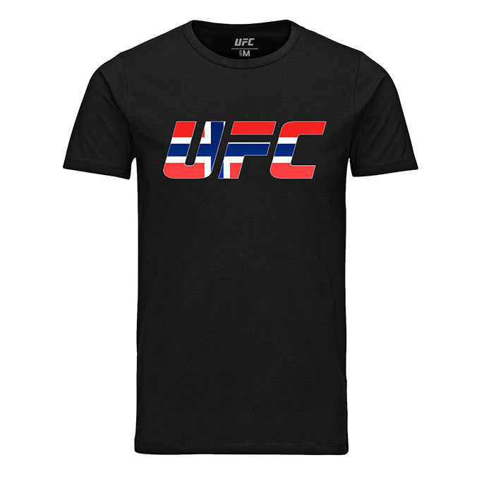 UFC Norway Country Logo Black T-Shirt