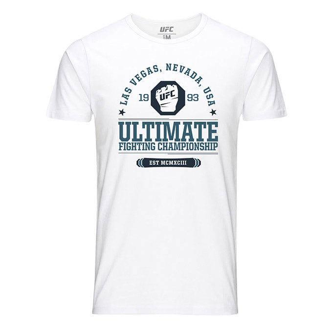 Ultimate Fighting Championship EST MCMXCIII White T-Shirt