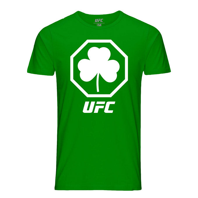 Men's UFC St. Patrick's Day Shamrock T-Shirt - Green