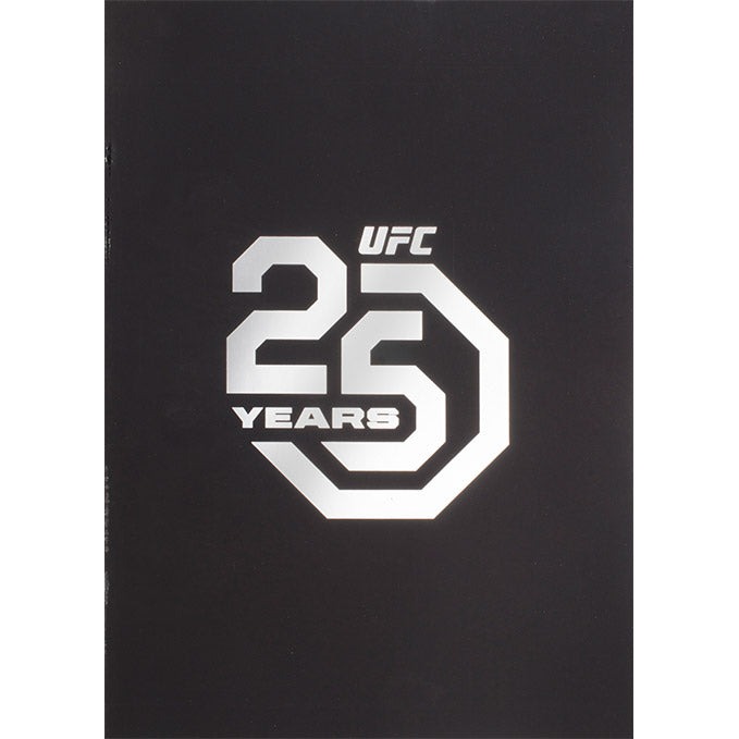 UFC 25th Anniversary Program