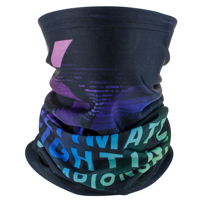 UFC Geometric After Dark Reversible Neck Gaiter