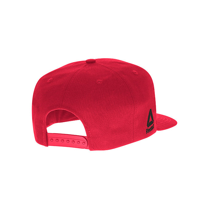 UFC Reebok Kids' Outline Red Snapback Cap