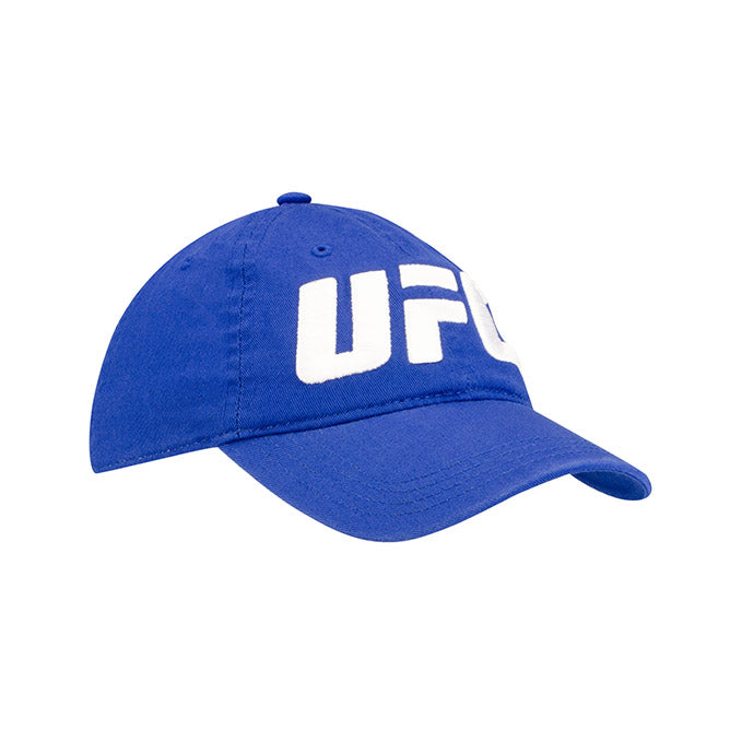 UFC Reebok Youth Split Octagon Blue Adjustable Cap