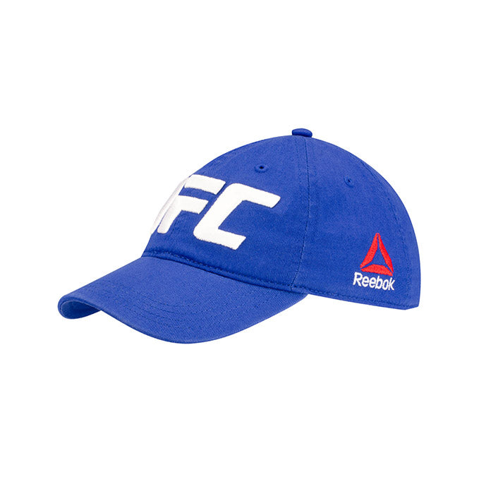UFC Reebok Kids' Split Octagon Blue Adjustable Cap