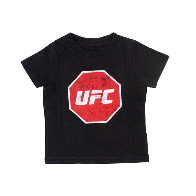 UFC Infant Distressed T-Shirt - Black
