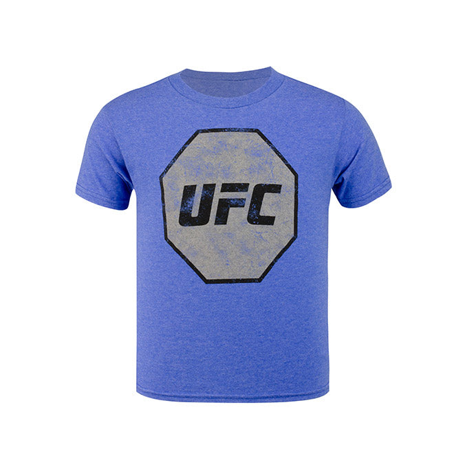 UFC Junior Distressed T-Shirt - Royal Heather