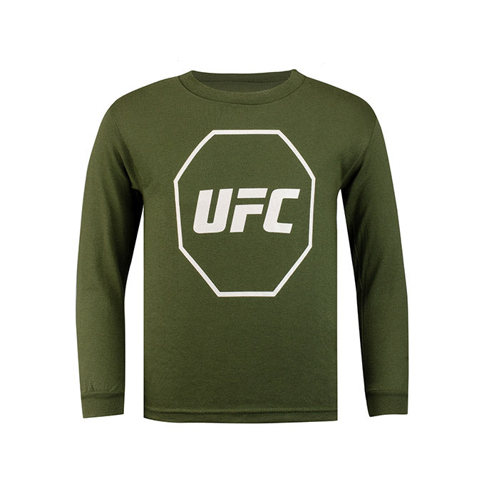 UFC Junior Long Sleeve T-Shirt - Moss Green