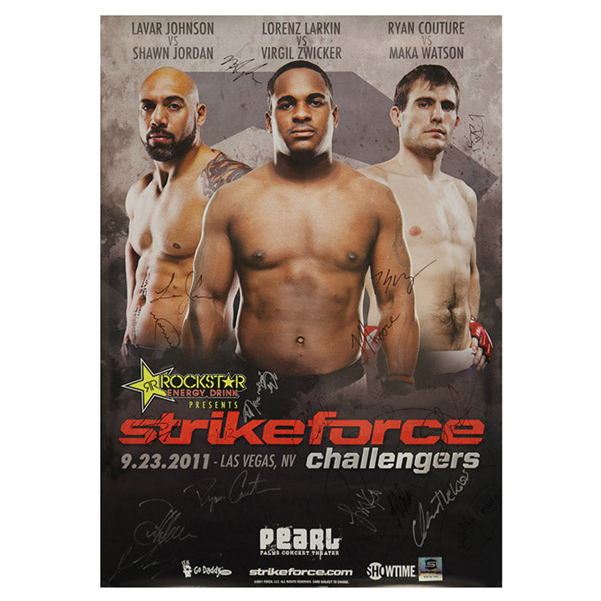 Strikeforce (Larkin vs. Rossborough) Autographed Event Poster