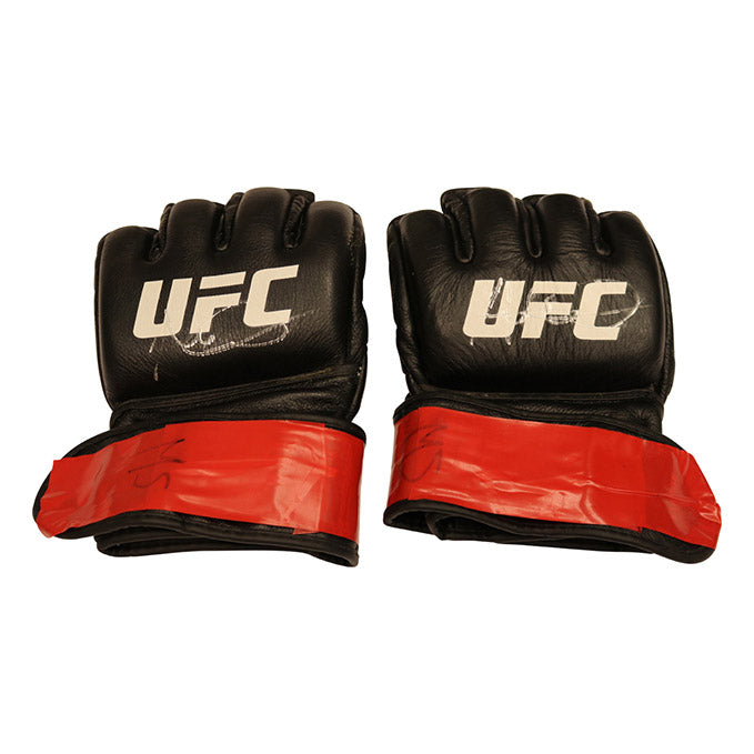 Magomed Ankalaev Autographed Fight Worn Gloves from Fight Night 145 - Prague
