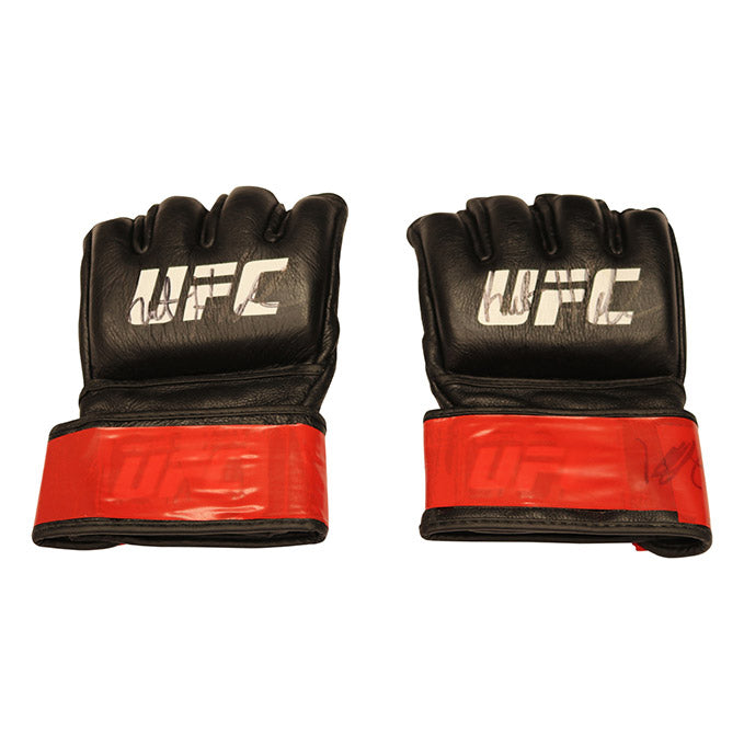 Kurt Holobaugh Autographed Fight Worn Gloves from Fight Night 133 - Boise