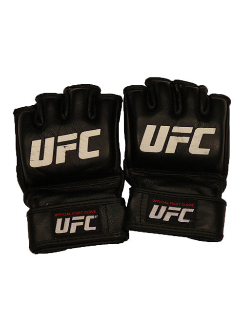 Raquel Pennington Fight Worn Gloves from UFC 202