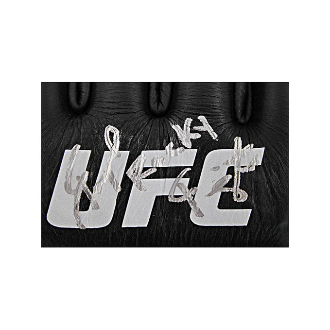 Raquel Pennington Autographed Fight Worn Gloves from UFC Fight Night: Blaydes vs Volkov