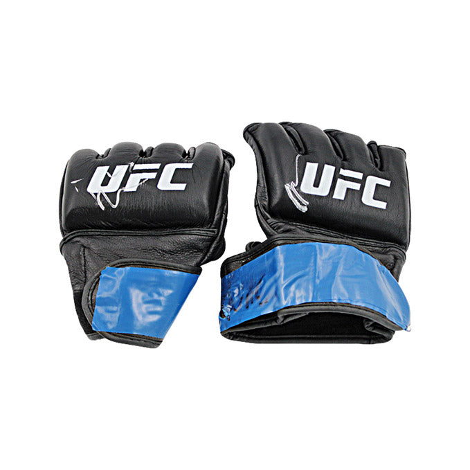 Ryan Spann Autographed Fight Worn Gloves from UFC Fight Night: Covington vs Woodley