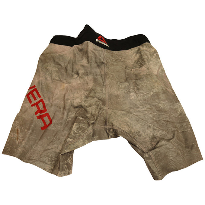 "Jimmie Rivera Autographed Fight  Worn Shorts, Inscribed ""El Terror"",  from UFC on ESPN 1 - Phoenix"