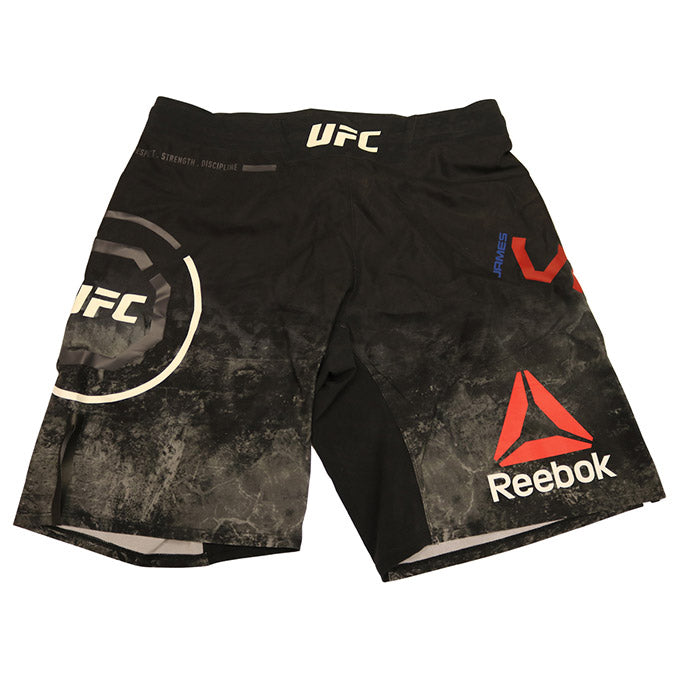 James Vick Autographed Fight Worn Shorts from UFC on ESPN 1 - Phoenix