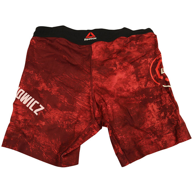 Jan Blachowicz Autographed Fight Worn Shorts from Fight Night 145 - Prague