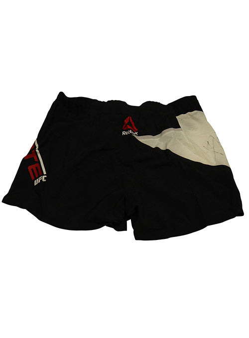 Patrick Cote Autographed Fight Worn Shorts from Fight Night 81 - Boston
