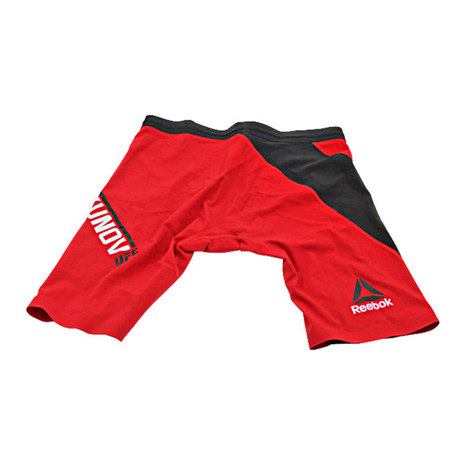 Misha Cirkunov Autographed Fight Worn Shorts from UFC Fight Night: Gustafsson vs Teixeira