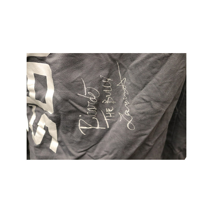 "Ricardo Lamas Autographed Event Worn Hoodie, Inscribed ""The Bully"" from Fight Night 140 - Buenos Aires"