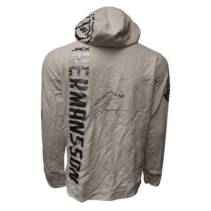 Jack Hermansson Autographed Event Worn Hoodie from UFC on ESPN 2 - Philadelphia