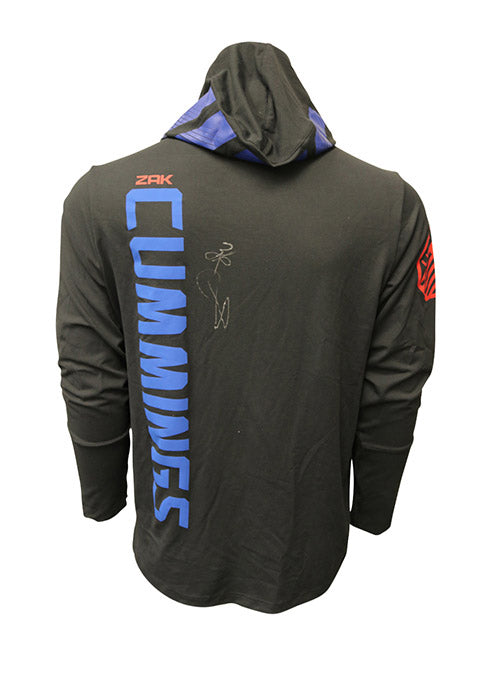 Zak Cummings Autographed Event Worn Hoodie from UFC on Fox 24 - Kansas City