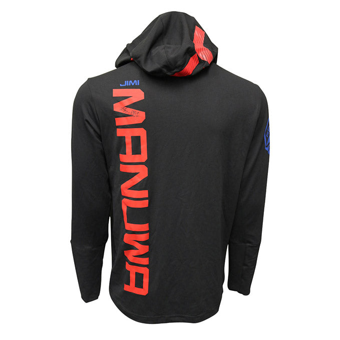 "Jimi Manuwa Autographed Event Worn Hoodie, Inscribed ""PB1"", from Fight Night 107 - London"
