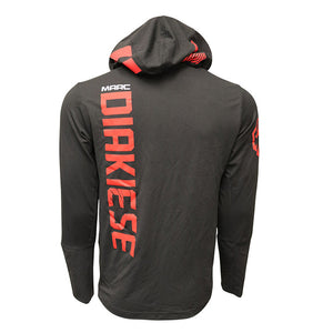 Marc Diakiese Autographed Event Worn Hoodie from Fight Night 107 - London