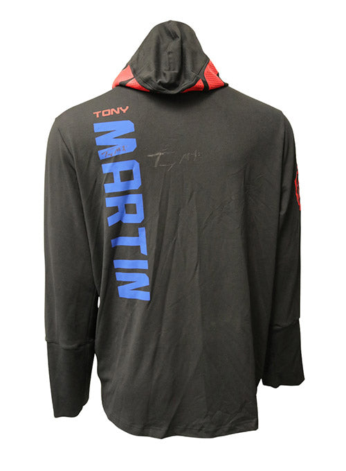 Tony Martin Autographed Event Worn Hoodie from UFC on Fox 18 - Newark