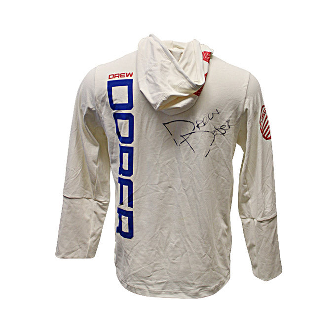 Drew Dober Autographed Event Worn Hoodie from UFC 195: Lawler vs Condit