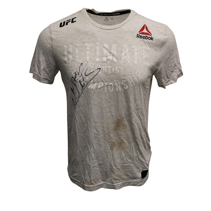 Marlon Moraes Autographed Event Worn Jersey from Fight Night 144 - Fortaleza