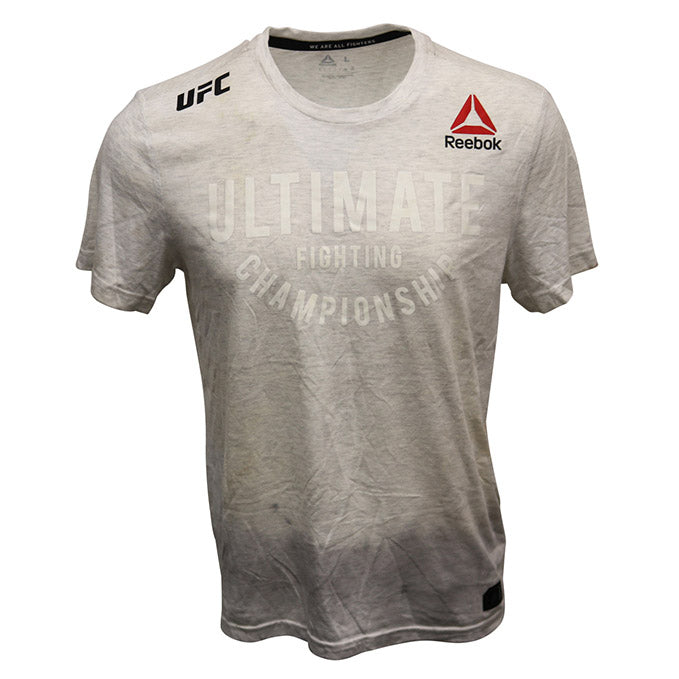 Israel Adesanya Event Worn Jersey from TUF 27 Finale - Undefeated