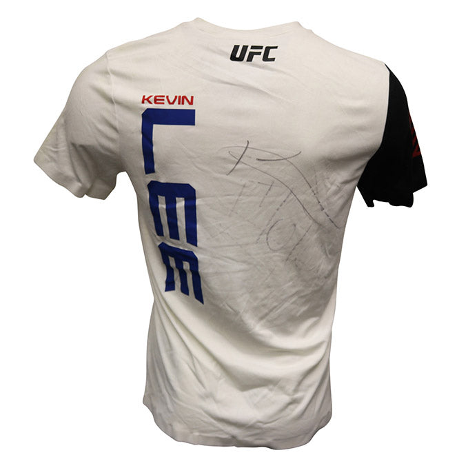 Kevin Lee Autographed Event Worn Jersey from Fight Night 106 - Fortaleza