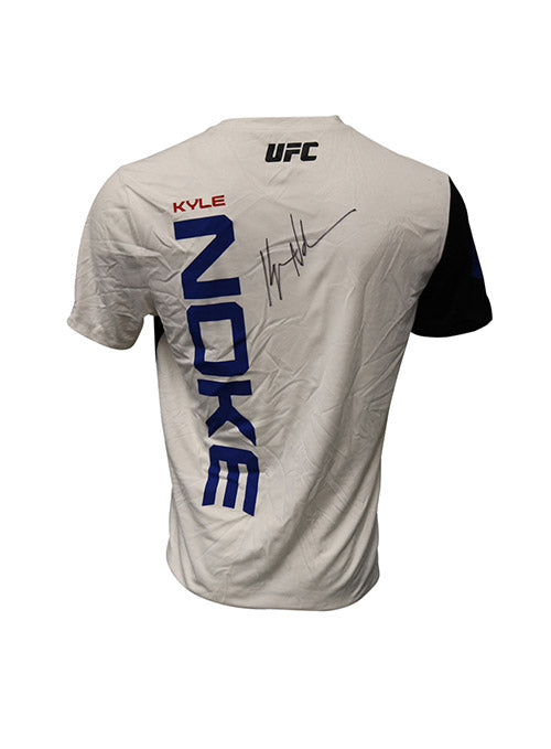 Kyle Noke Autographed Event Worn Jersey from UFC 195